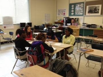 Picture of students conducting mediation